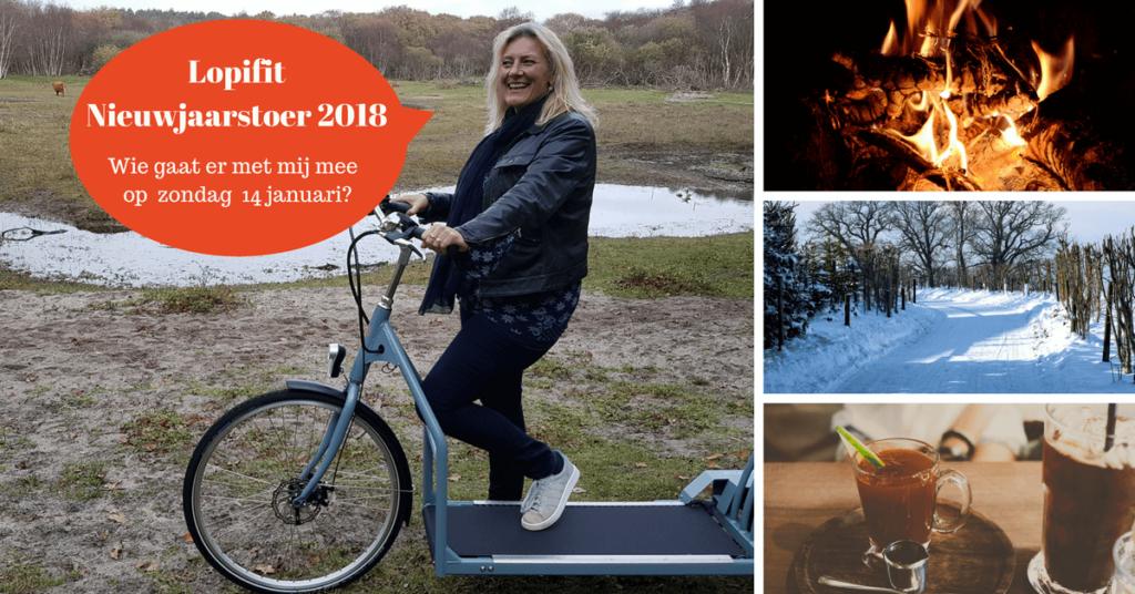 Lopifit Nieuwjaarstoer 2018 op zondag 14 januari 2018